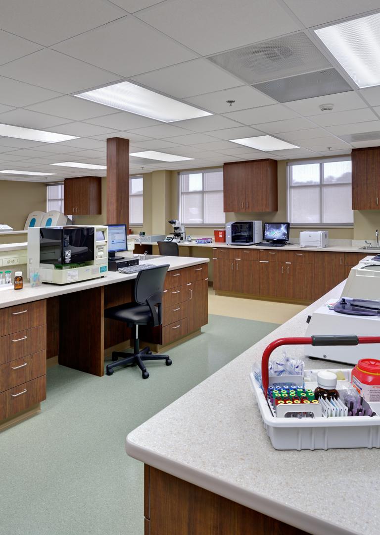 Memorial Hospital Lab